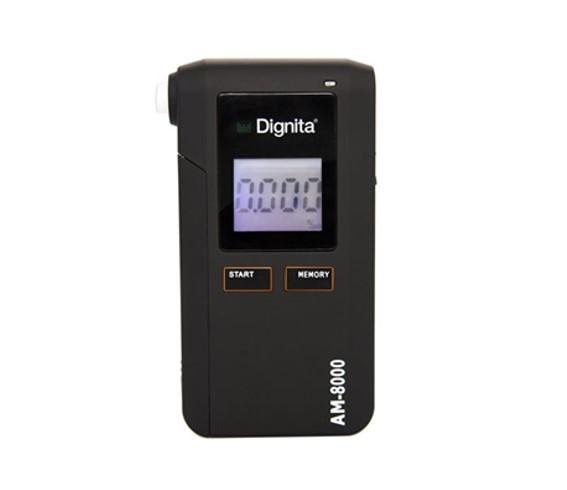 Godkjent alkomåler, som kjøpes og kalibreres i Norge: Dignita AM 8000