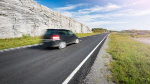 Illustrasjon av fart
