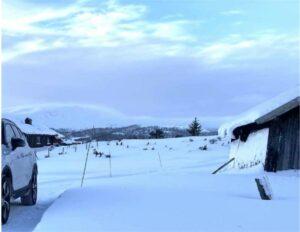 Elbil på vinteren