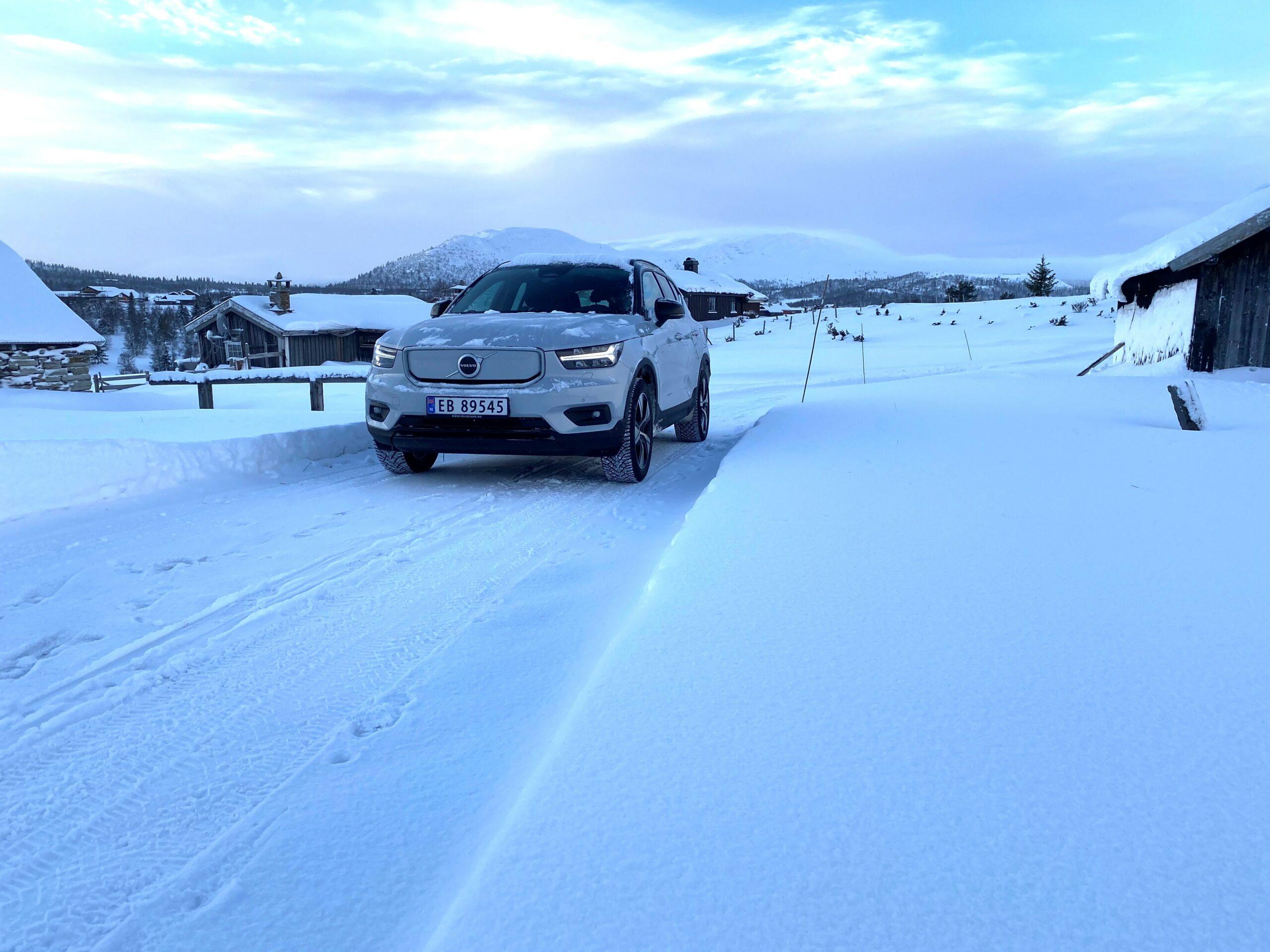 Vinter og kulde gir utfordringer for alle med elbil